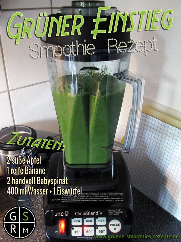 Grüner Smoothie - Ein Grundrezept