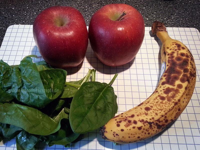 süße grüne smoothies selber machen – nr 1 ~ Entsafter Banane