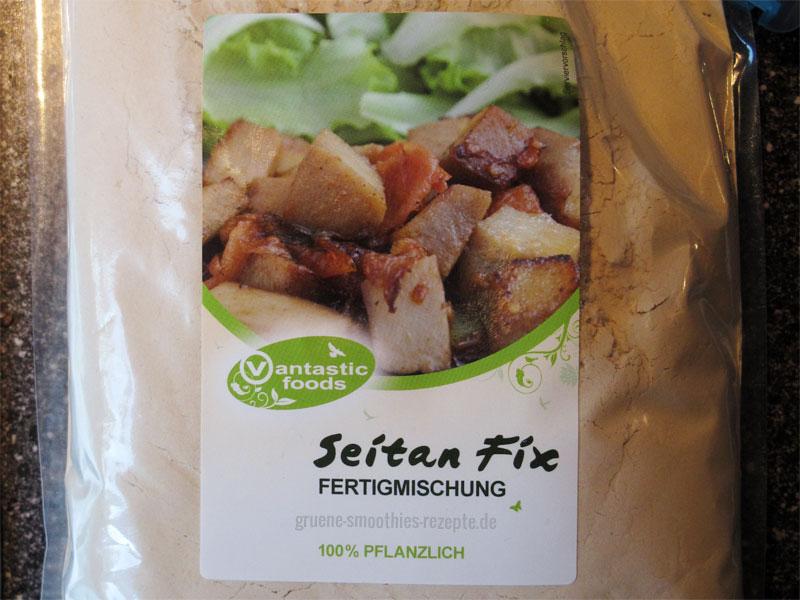 Fertigmischung: Seitan Pulver - Der Fleischersatz