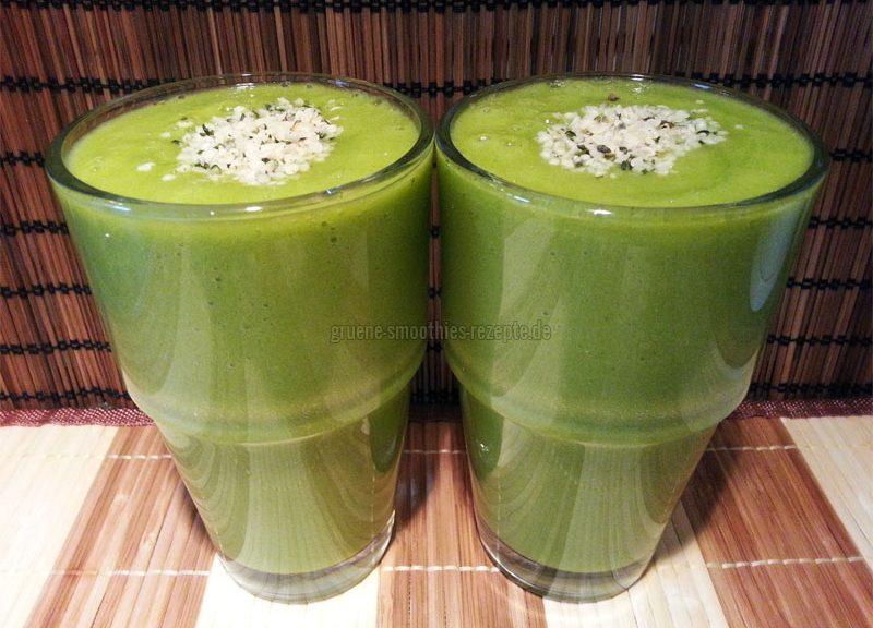 Vegan Fasten - Tag 2 - Grüne Smoothies
