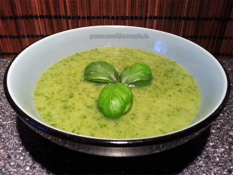 Vegan Fasten - Tag 12 - Blitzschnelle Bärlauch-Kartoffel-Suppe