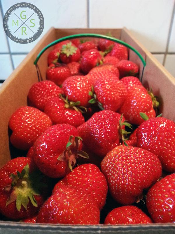 Erdbeeren direkt vom regionalen Erzeuger