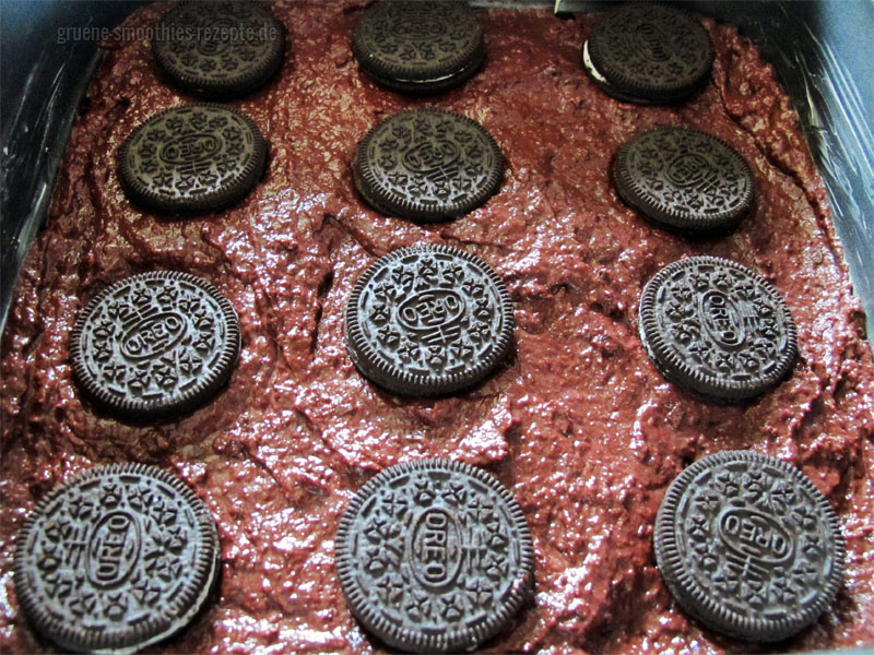 Füllung für die Rote Bete Brownies mit Oreofüllung3