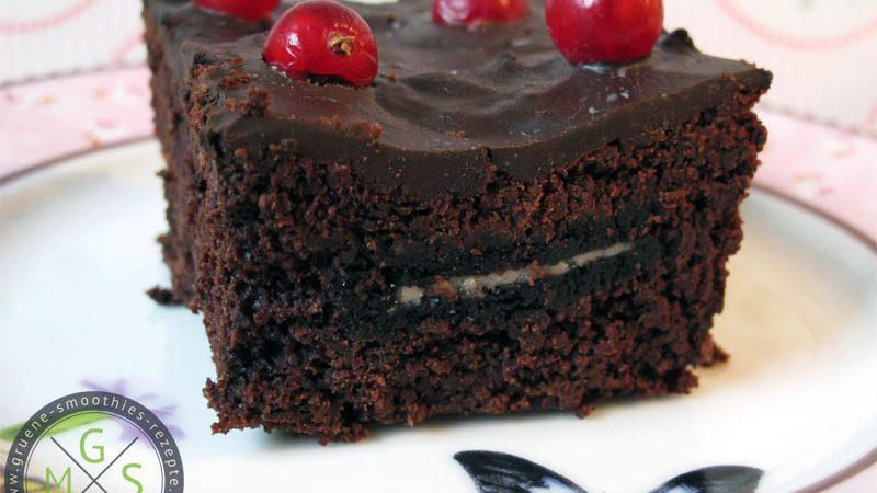 Rote Bete Brownies mit Oreofüllung - Yammie