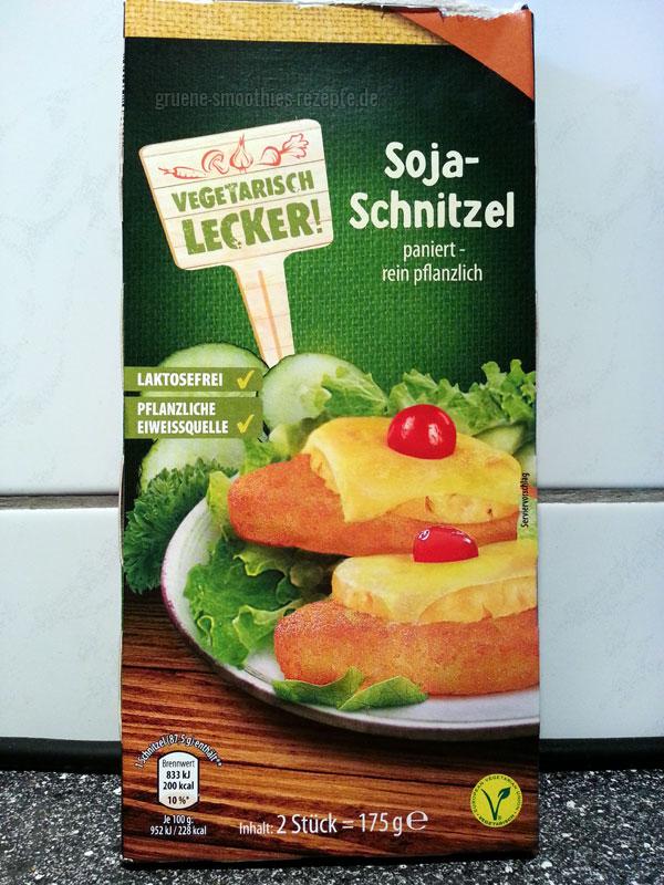 """Die Soja Schnitzel aus der """"Vegetarisch Lecker"""" Reihe vom Aldi-Süd"""