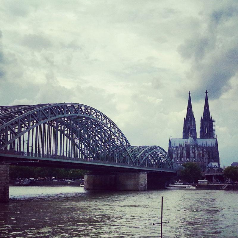 Radtour am Rhein - Diesmal auf der Schäl Sick