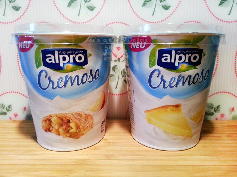 """An dem Sojajoghurt """"Cremoso"""" von Alpro haben sich hier die Geister unterschieden..."""