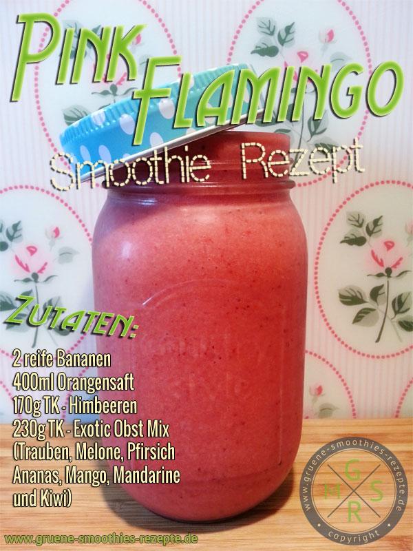 Pink Flamingo Smoothie - Einfach lecker
