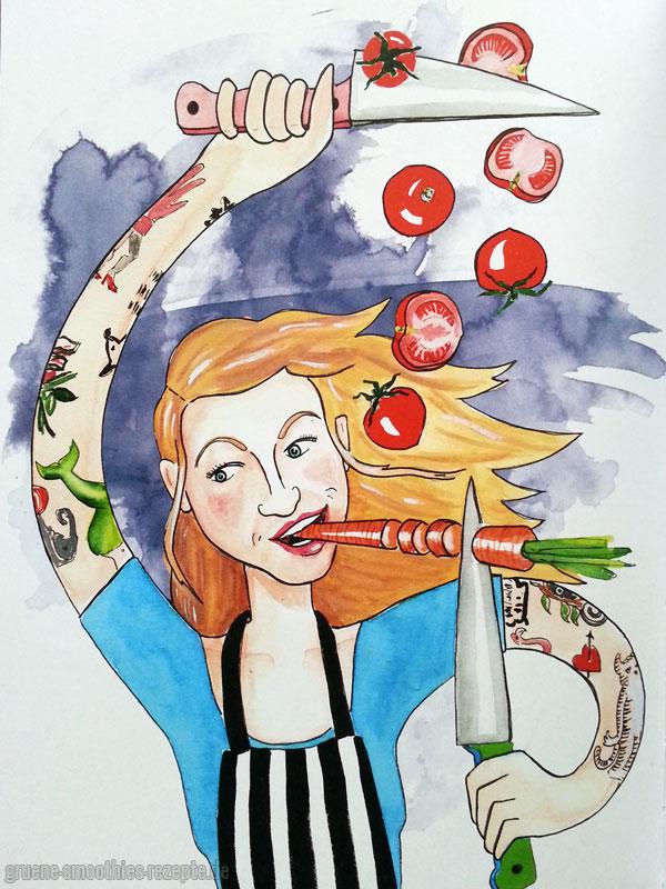 Sophias Vegane Welt von Sophia Hoffmann - Illustrationen2