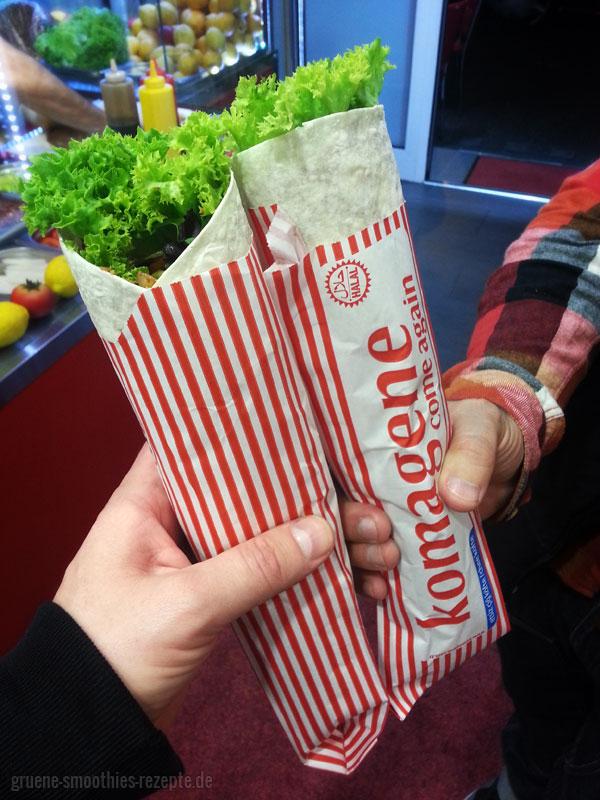 Vegane Cigköfte-Wraps von Komagene in Köln Ehrenfeld