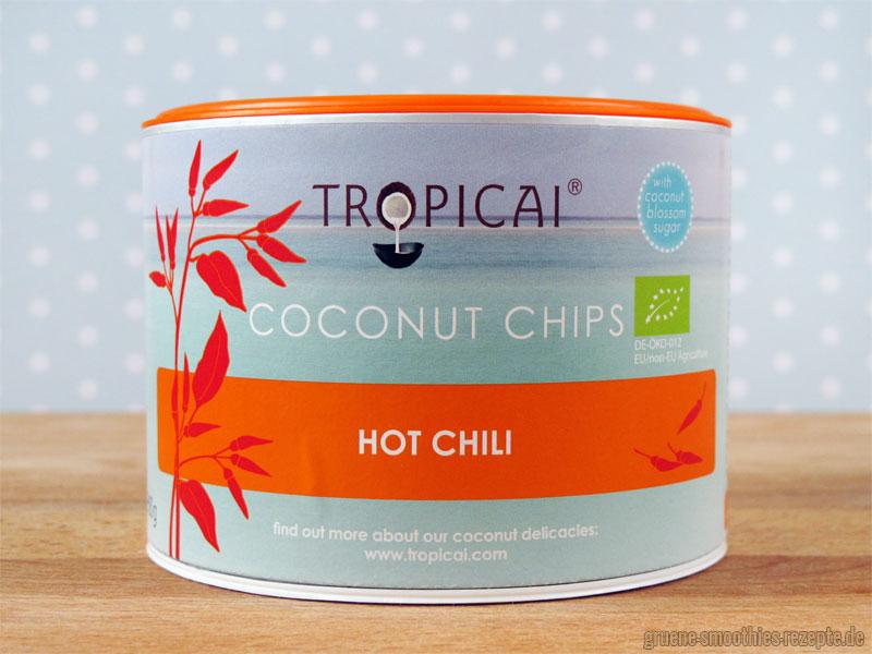"""Die Coconut Chips """"Hot Chili"""" von Trpoicai"""