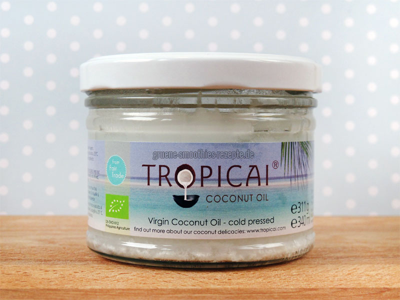 Das Virgin Coconut Oil vom Tropicai
