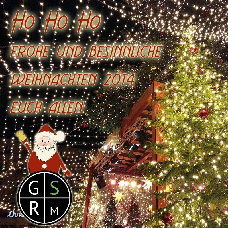 Fröhliche und besinnliche Weihnachten 2014