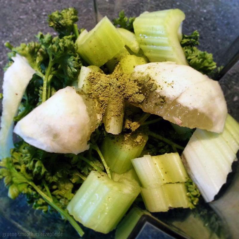 Yammie - Mein Rezept für den grünen Smoothie mit Matcha <3