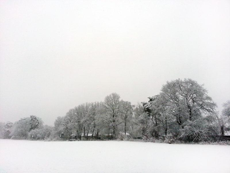 Leise rieselt der Schnee in Köln