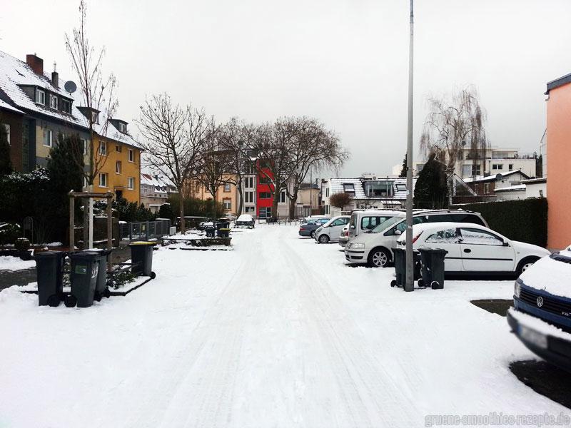 Schneespaziergang in Köln