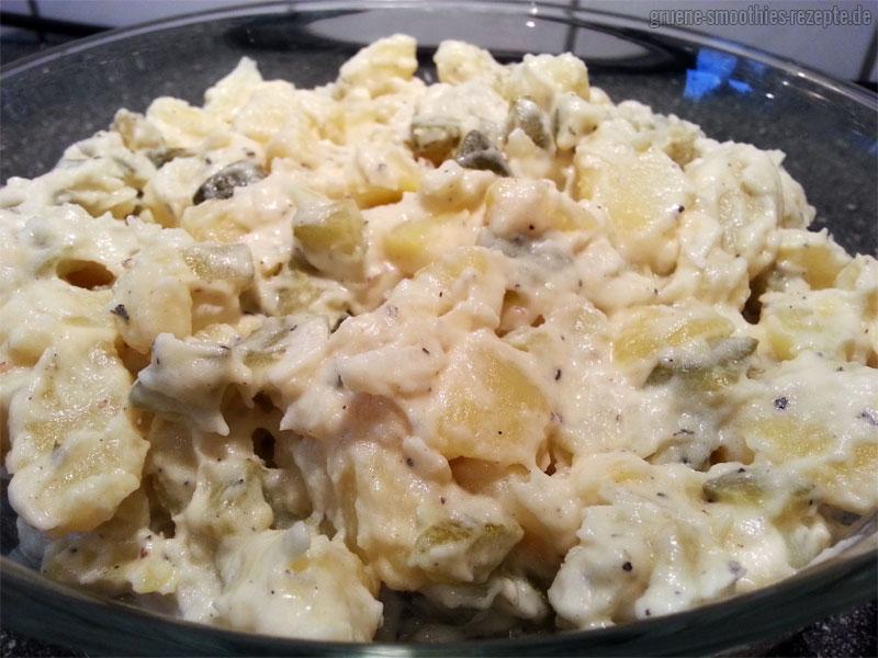Veganer Kartoffelsalat - Das Originalrezept stammt übrigens von meiner Oma...Sie würde die vegane Version bestimmt nicht bemerken :D
