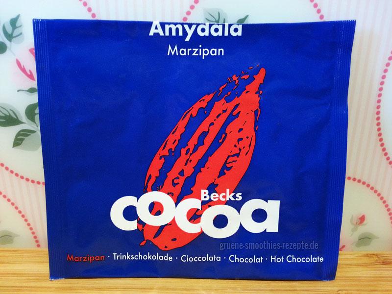 Veganes Marzipan-Kakaopulver von Beckscocoa