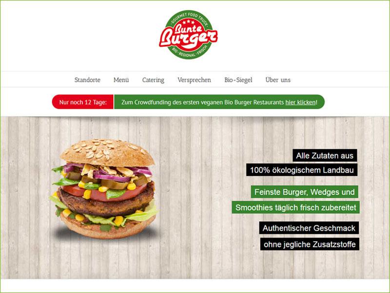 """JA! - wir brauchen es - Deutschlands erstes veganes """"Bunte Burger"""" Bio-Restaurant :)"""