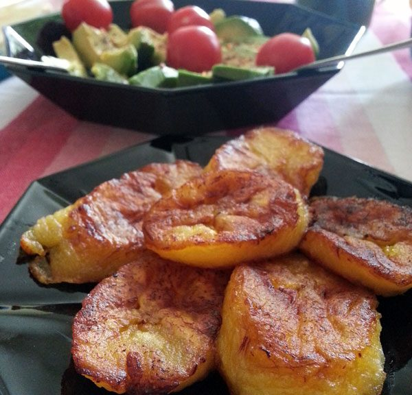 Yammie - Die in Kokosöl gebratene Kochbanane schmeckt einfach mega gut zum Frühstück :)