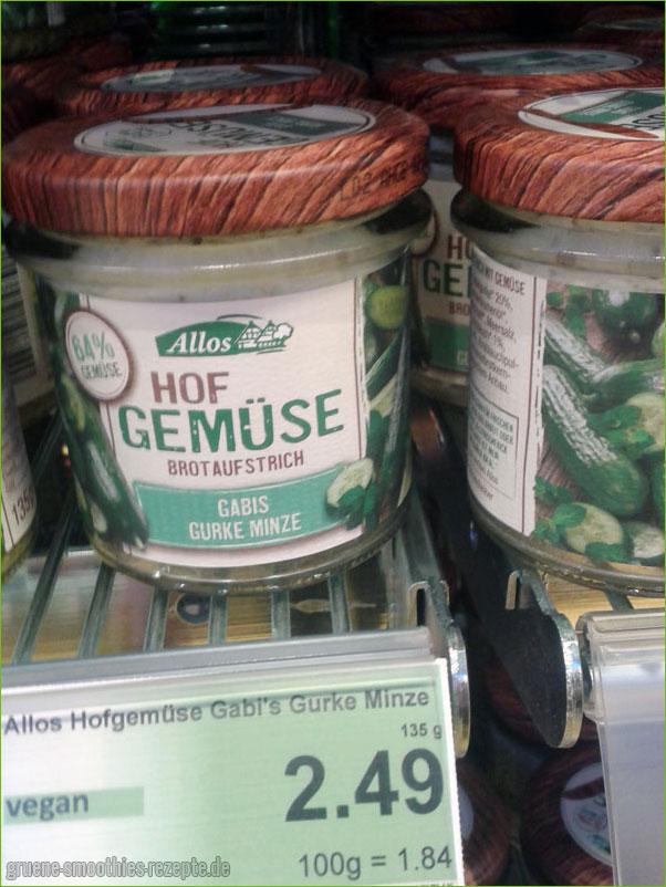 Gabis-Gurke-Minze Brotaufstrich von Allos