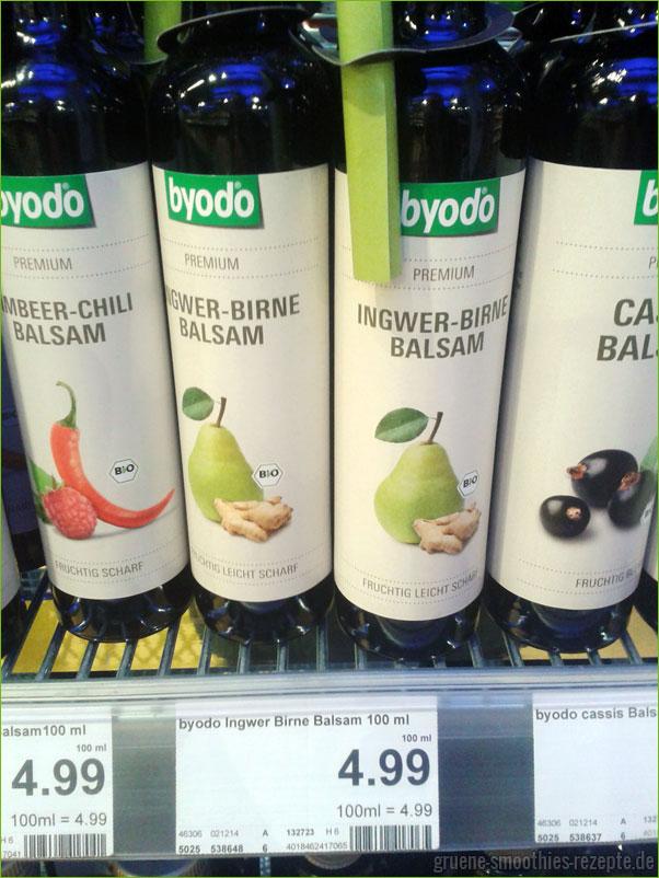 Ingwer-Birne-Balsam von byodo