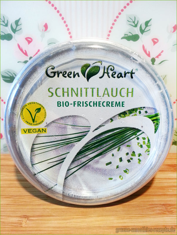 Schnittlauch-Bio-Frischecreme von Green Heart