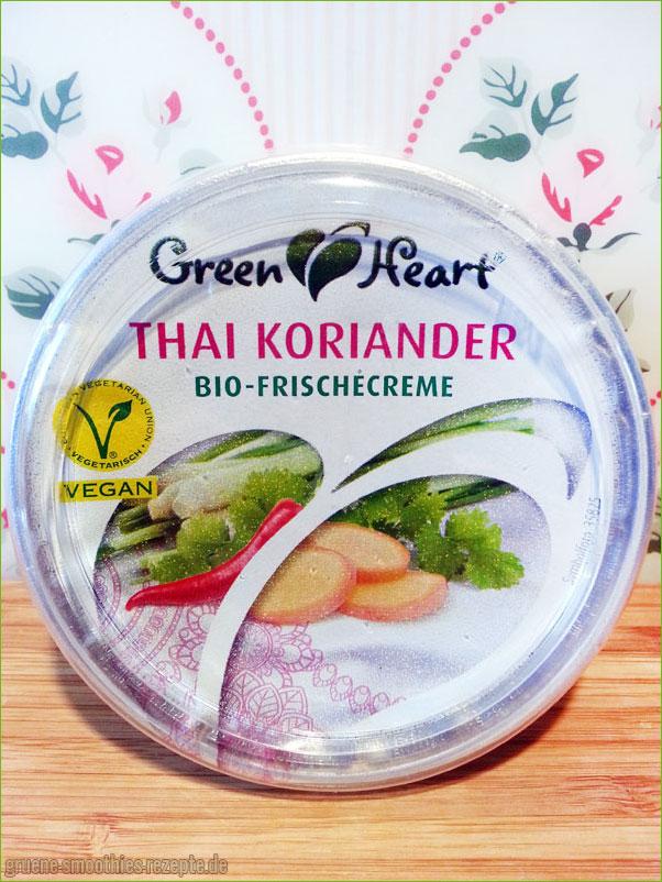 Thai-Koriander-Bio-Frischecreme von Green Heart