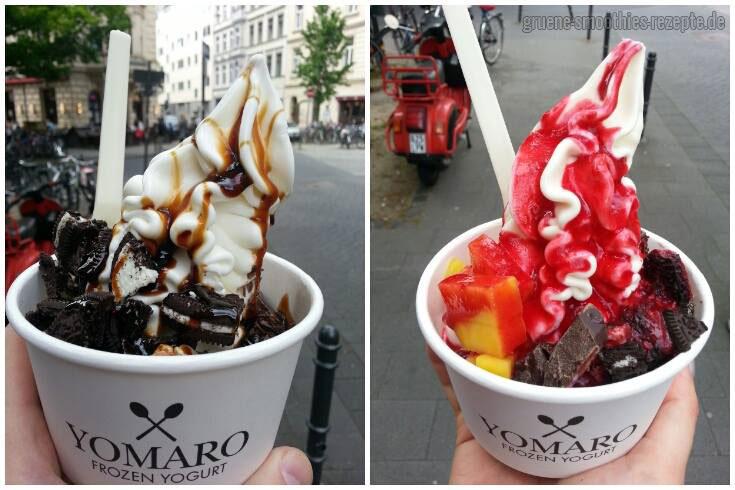 Veganer Frozen Yoghurt von Yomaro