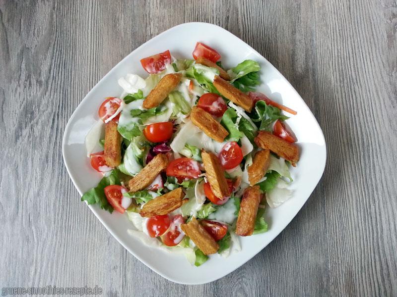 OMG - Gemüse-Filet-Streifen von Proviand mit dem Sylter-Art-Dressing von Kühne - Ein Traum :)