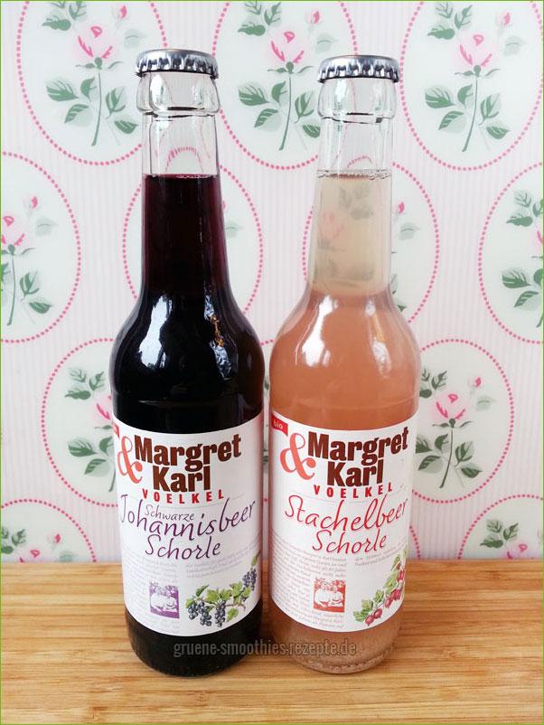 Schorlen von Voelkel - Margret und Karl