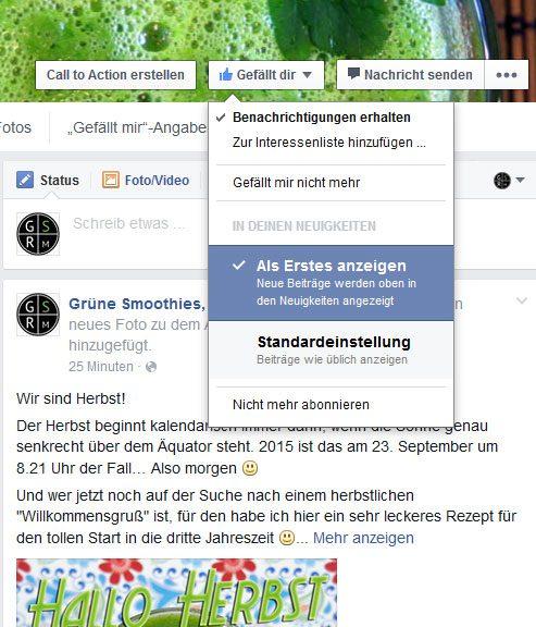 Facebook und die Reichweite - Entscheide selber was dir bei Facebook angezeigt wird und was nicht...