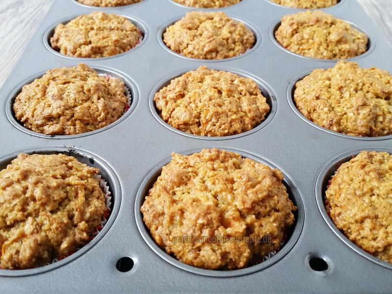 Rübli-Cupcakes - Vegan - auskuehlen lassen