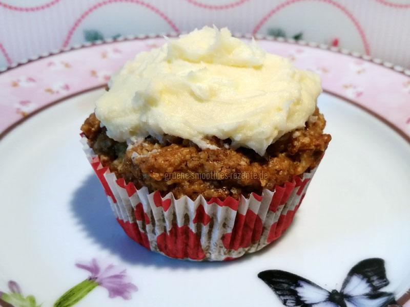 Vegane Rübli-Cupcakes mit Orangen-Frosting