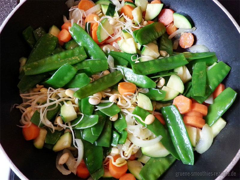Das Wokgemüse nach der Art von Elisabeth Fischer aus Vegan Fasten