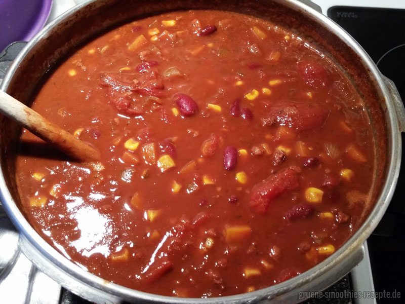 Chili sin Carne - a la Mrs. Smoothies #beste