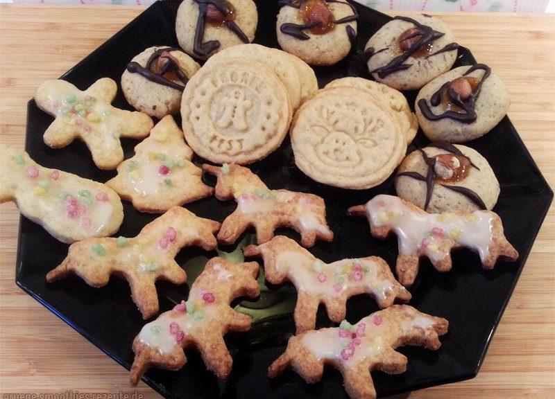 Vegane Dinkelplätzchen - Weihnachtlich wie bei meiner Oma