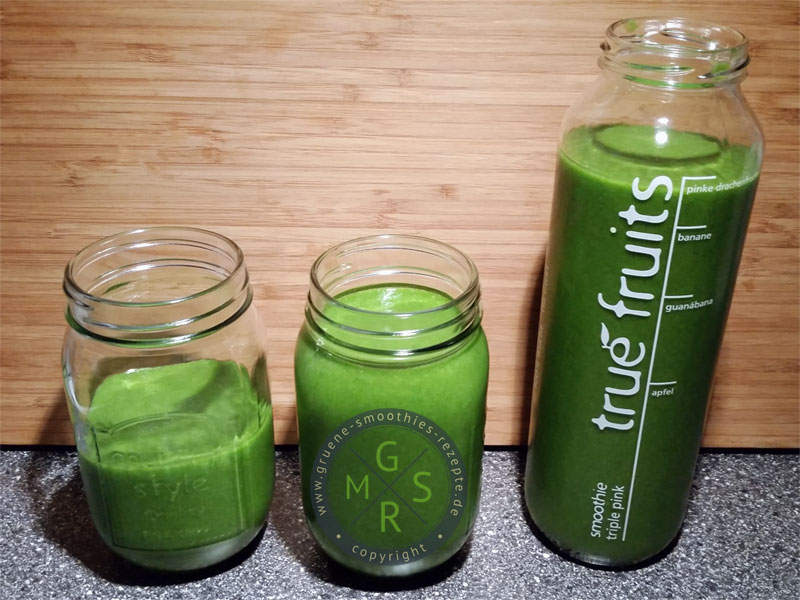 Fit in das Wochenende mit dem grünen Smoothies to go :)