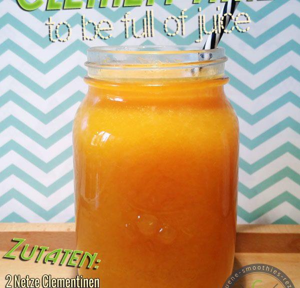 Mandarinensaft - Kaltgepresst - 100 Prozent Frucht