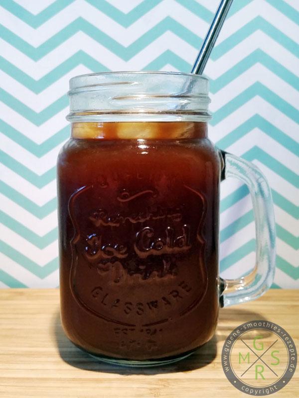 Der Cold Brew Kaffee ist die perfekte Abkühlung für warme Sommertage :)