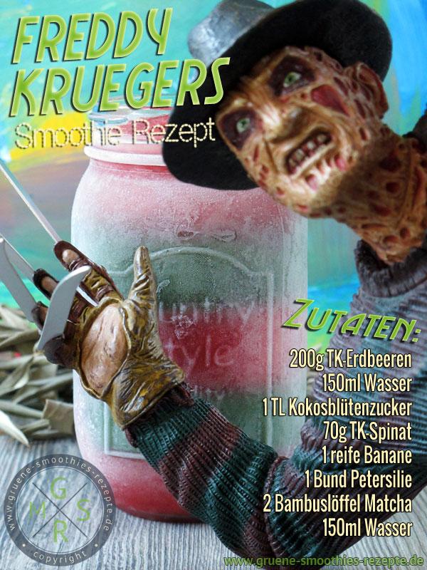 Freddy Kruegers Lieblings Smoothie Rezept - Happy Halloween
