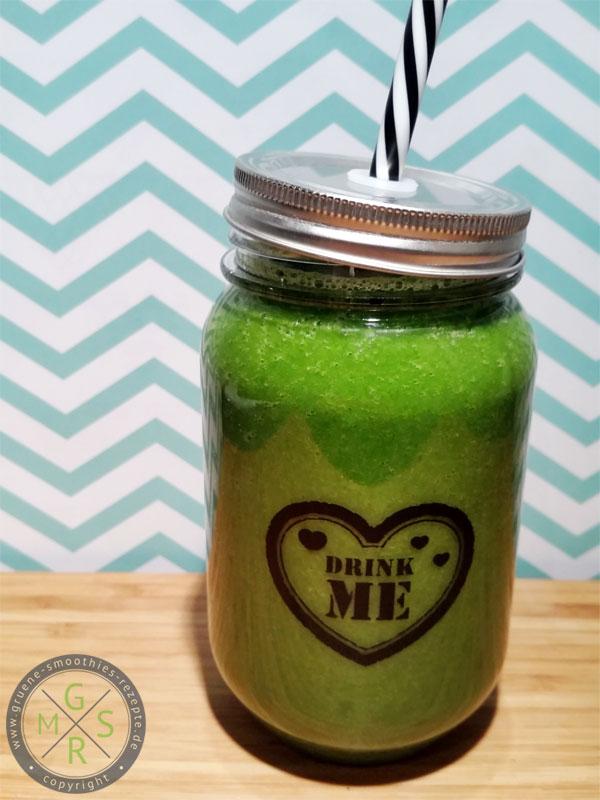 Grüne Smoothies mit Grünkohl - Winterlich, gesund und richtig lecker